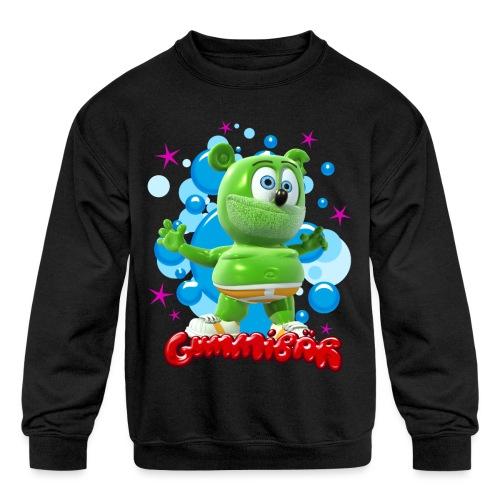 Gummibär Bubbles - Kids' Crewneck Sweatshirt