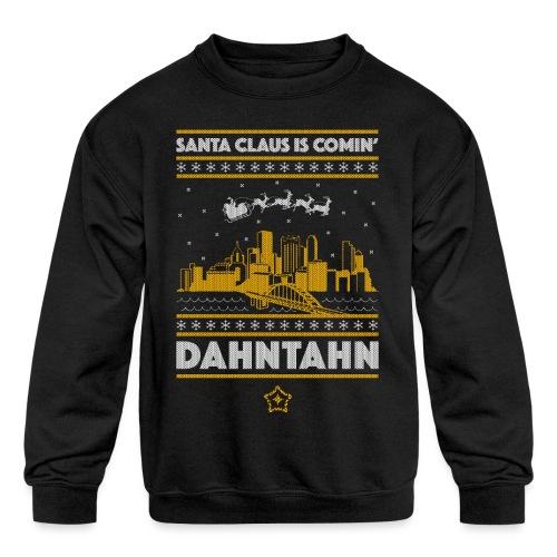 2018_dahntahn - Kids' Crewneck Sweatshirt