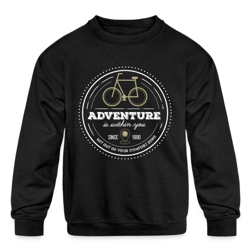 Adventure - Kids' Crewneck Sweatshirt