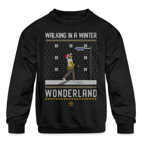 2018_Walking Winter Wonde - Kids' Crewneck Sweatshirt