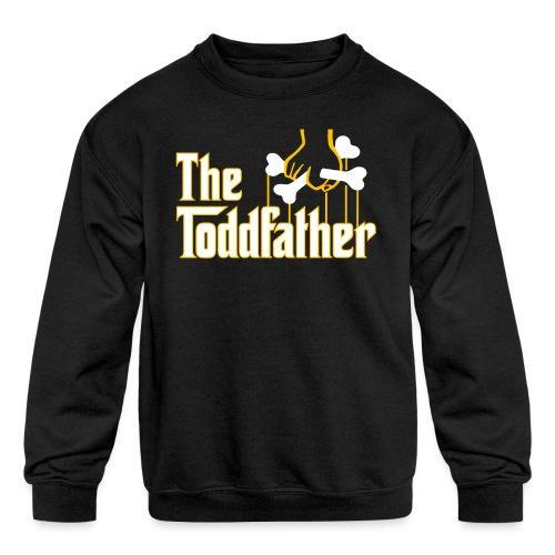 The Toddfather - Kids' Crewneck Sweatshirt