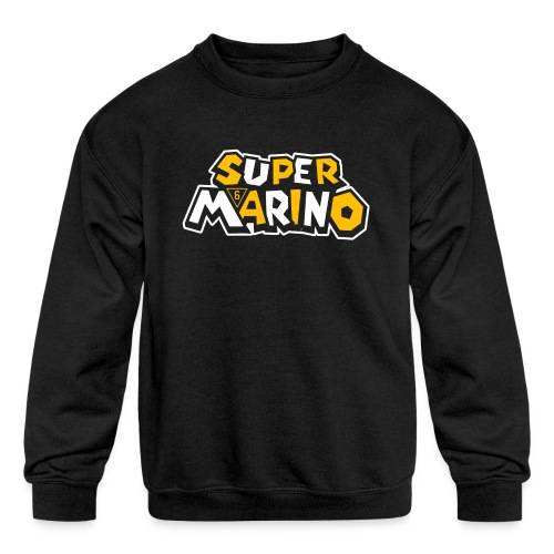 Super Marino - Kids' Crewneck Sweatshirt