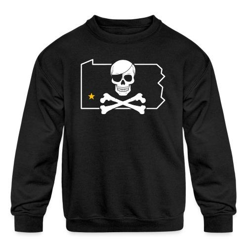 Bones PA - Kids' Crewneck Sweatshirt