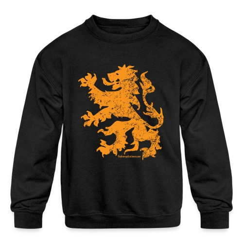 Dutch Lion - Kids' Crewneck Sweatshirt