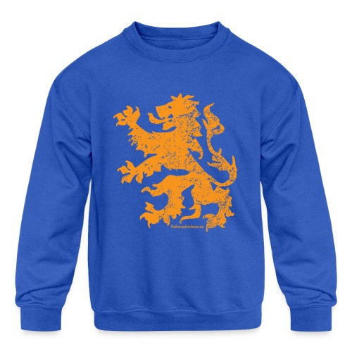 Dutch Lion - Kids' Crewneck Sweatshirt