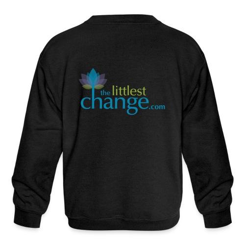 Teach, Love, Nurture - Kids' Crewneck Sweatshirt