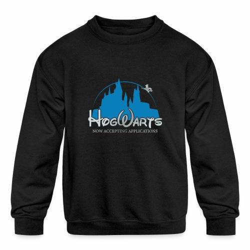 Castle Mashup - Kids' Crewneck Sweatshirt