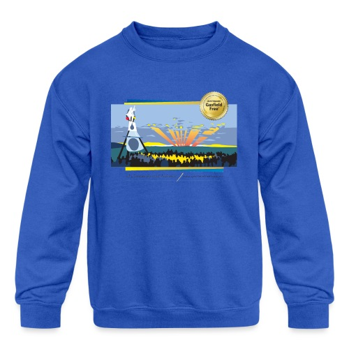 Bentley Blockade - Kids' Crewneck Sweatshirt