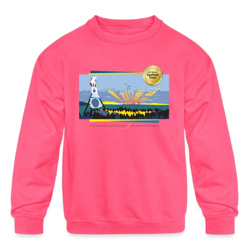 Bentley Blockade - Kids' Crewneck Sweatshirt