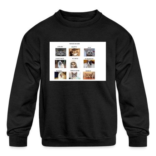 MOOD BOARD - Kids' Crewneck Sweatshirt