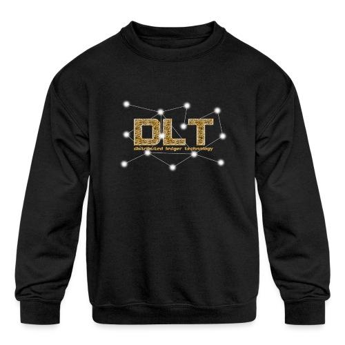DLT - distributed ledger technology - Kids' Crewneck Sweatshirt