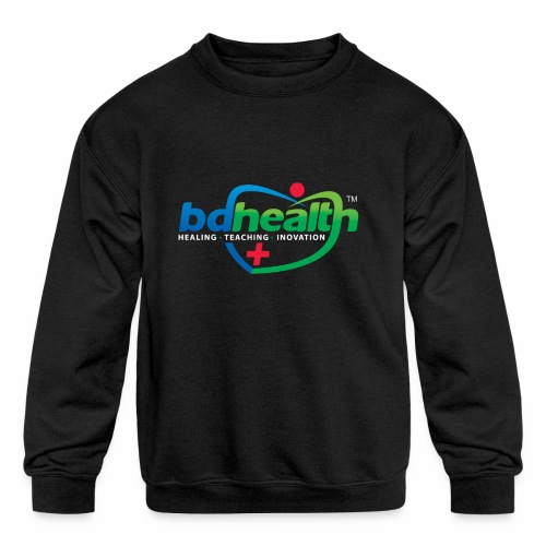 Health care / Medical Care/ Health Art - Kids' Crewneck Sweatshirt