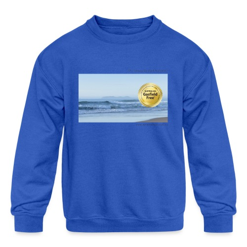 Beach Collection 1 - Kids' Crewneck Sweatshirt
