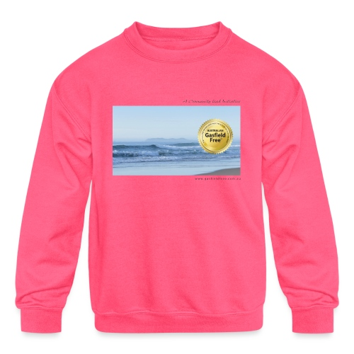 Beach Collection 1 - Kids' Crewneck Sweatshirt
