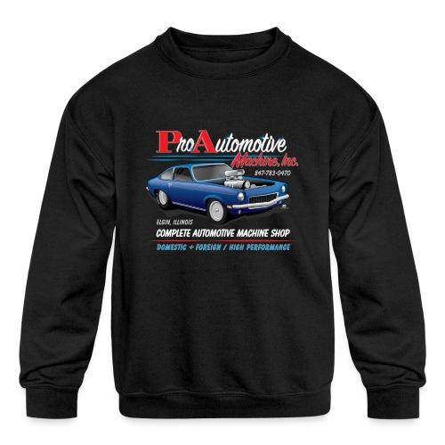 ProAutoTeeDesign062317fin - Kids' Crewneck Sweatshirt