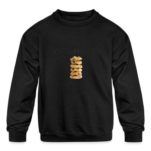 Dip Cookies Here mug - Kids' Crewneck Sweatshirt