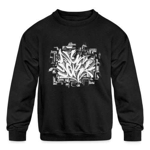 Kostya - NYG Design - REQUIRES WHITE SHIRT COLOR - Kids' Crewneck Sweatshirt