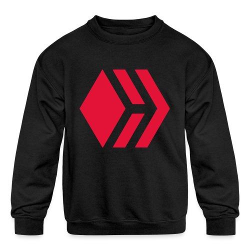Hive logo - Kids' Crewneck Sweatshirt