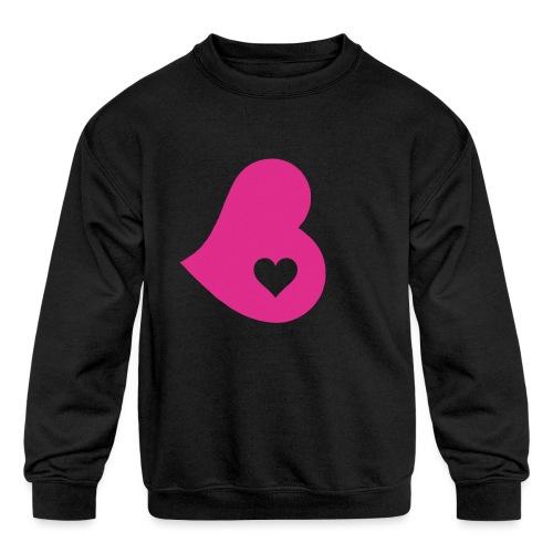 Two Hearts - Kids' Crewneck Sweatshirt