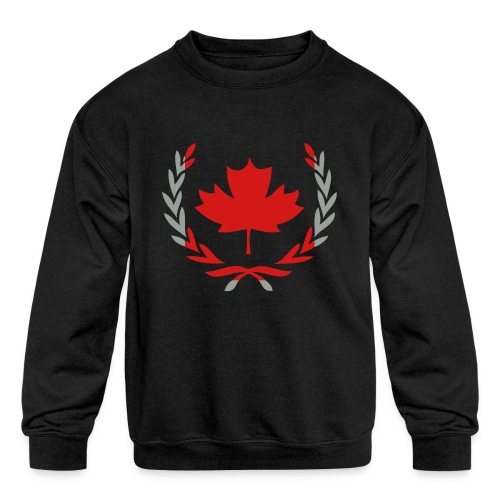 United Canada - Kids' Crewneck Sweatshirt
