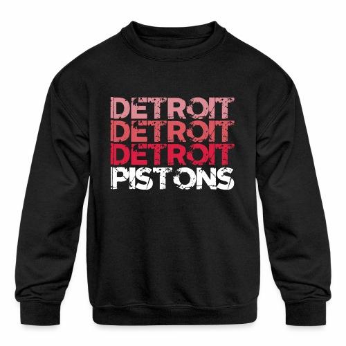 DETROIT PISTONS - Kids' Crewneck Sweatshirt