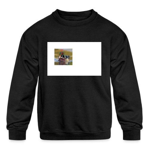 duck_life - Kids' Crewneck Sweatshirt