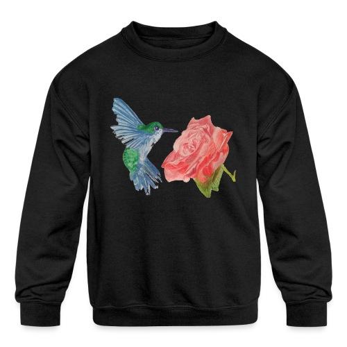 Hummingbird - Kids' Crewneck Sweatshirt