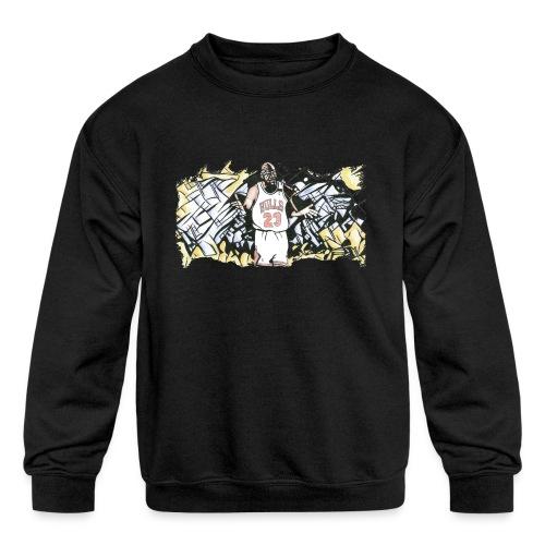 MJ - Kids' Crewneck Sweatshirt
