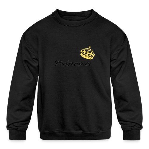 Princess - Kids' Crewneck Sweatshirt