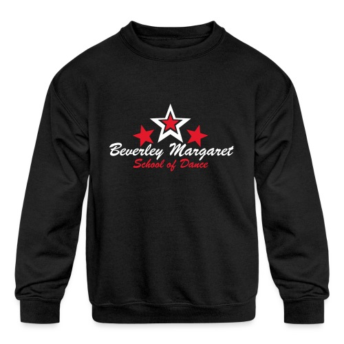 on black teen adult - Kids' Crewneck Sweatshirt