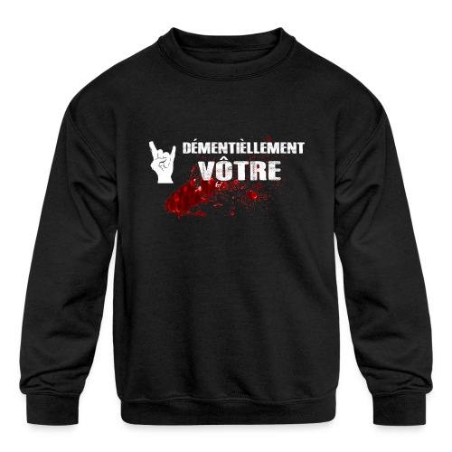 2017-LOGO-2-4000PX Long Sleeve Shirts - Kids' Crewneck Sweatshirt