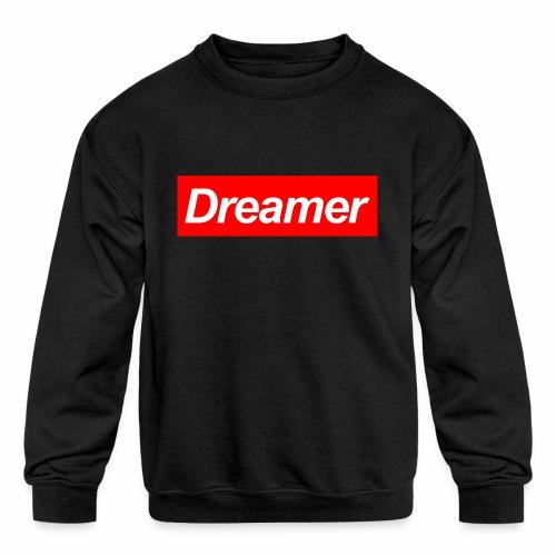 Dreamer - Kids' Crewneck Sweatshirt