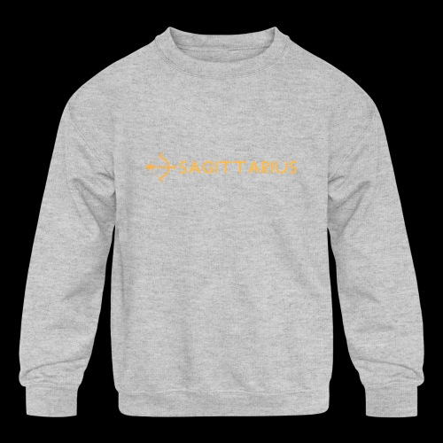 Sagittarius - Kids' Crewneck Sweatshirt