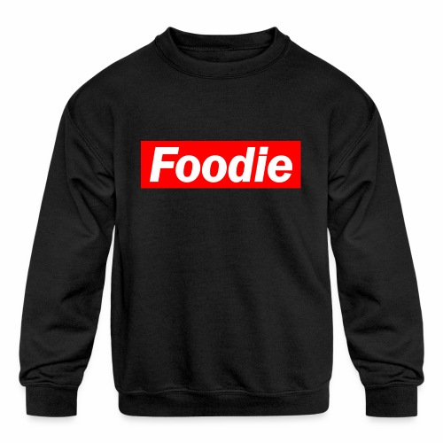 Foodie - Kids' Crewneck Sweatshirt