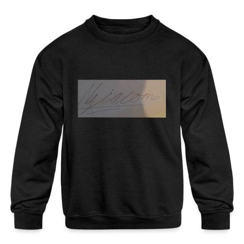 signature - Kids' Crewneck Sweatshirt