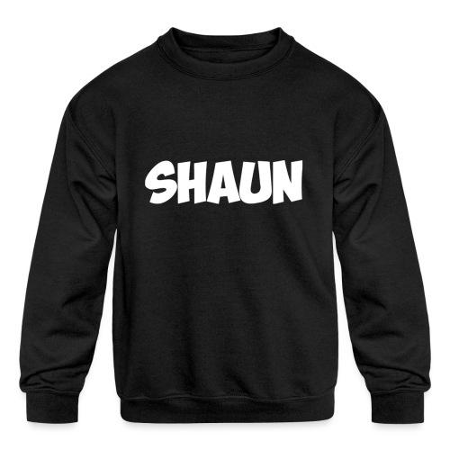 Shaun Logo Shirt - Kids' Crewneck Sweatshirt