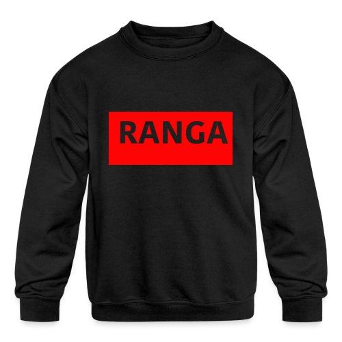 Ranga Red BAr - Kids' Crewneck Sweatshirt