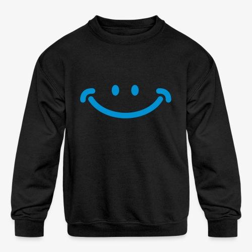 Happy Mug - Kids' Crewneck Sweatshirt