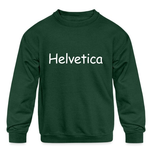 Design 4 - Kids' Crewneck Sweatshirt