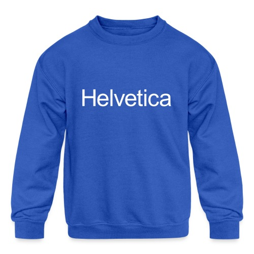 Design 2 - Kids' Crewneck Sweatshirt