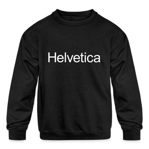 Design 2 - Kids' Crewneck Sweatshirt
