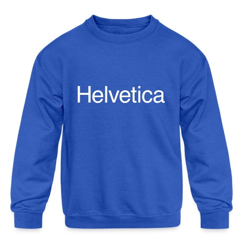 Design 1 - Kids' Crewneck Sweatshirt