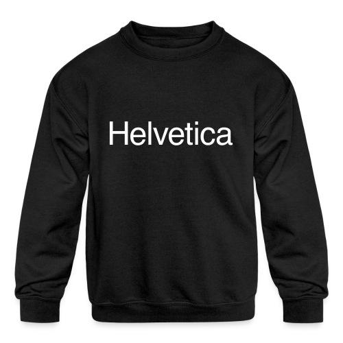 Design 1 - Kids' Crewneck Sweatshirt