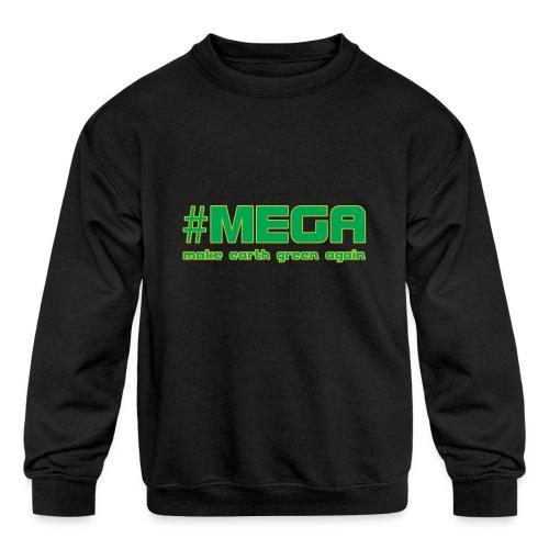 #MEGA - Kids' Crewneck Sweatshirt
