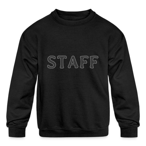 Staff - Kids' Crewneck Sweatshirt