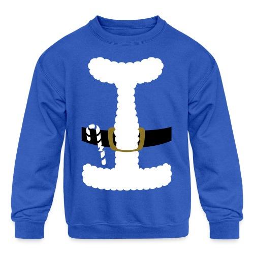 SANTA CLAUS SUIT - Men's Polo Shirt - Kids' Crewneck Sweatshirt