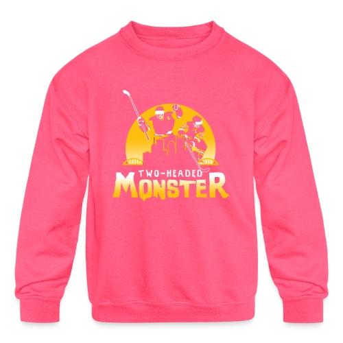 Two-Headed Monster - Kids' Crewneck Sweatshirt