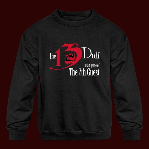 The 13th Doll Logo - Kids' Crewneck Sweatshirt