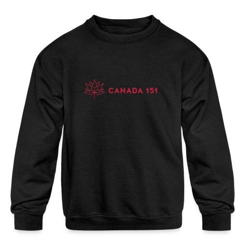 Canada 151 - Kids' Crewneck Sweatshirt