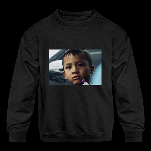Neverhomevlogs - Kids' Crewneck Sweatshirt